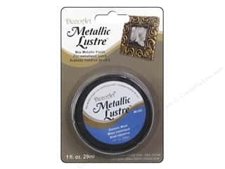 craft & hobbies: DecoArt Metallic Lustre 1 oz. Cosmic Blue