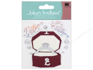"2"" D rings: Jolee's Boutique Stickers Engagement Ring"