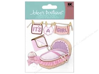 Jolee's Boutique Stickers Girl Clothes Line