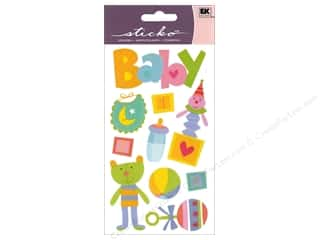 scrapbooking & paper crafts: Sticko Vellum Stickers - Fun Baby