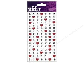EK Sticko Alphabet Stickers Happy Heart