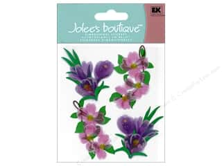stickers: Jolee's Boutique Stickers Dogwood And Crocus Flowers