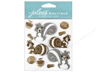 Jolee's Boutique Stickers Squirrels and Nuts