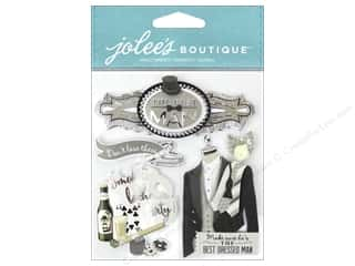 scrapbooking & paper crafts: Jolee's Boutique Stickers Best Man