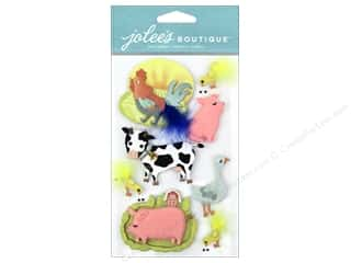 stickers: Jolee's Boutique Stickers Farm Animals