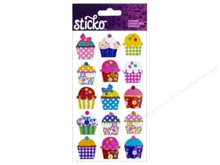 Sticko Stickers - Electric Cupcakes