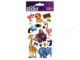 scrapbooking & paper crafts: EK Sticko Stickers Zoo Pass