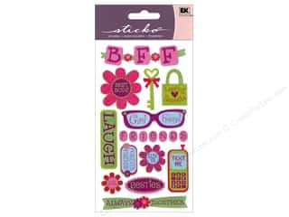 scrapbooking & paper crafts: EK Sticko Stickers Best Friends