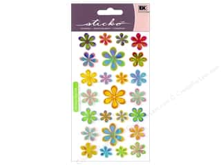Sticko Stickers - Funky Flowers