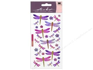 EK Sticko Stickers Dragonflies