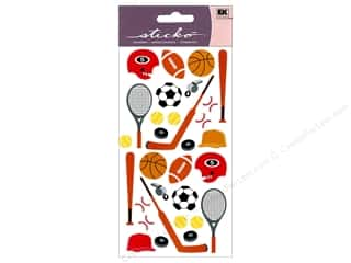 scrapbooking & paper crafts: EK Sticko Stickers Sports Equipment
