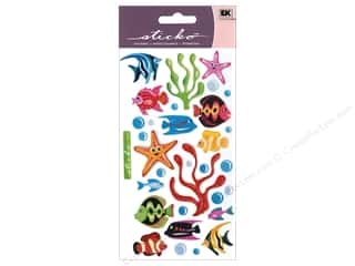 scrapbooking & paper crafts: Sticko Vellum Stickers - Tropical Fish