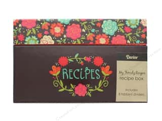 Darice Recipe Box Happy Day Floral