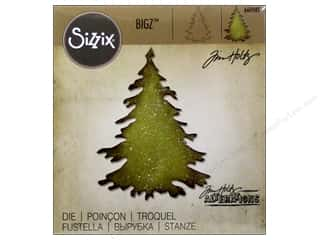 Sizix Bigz Dies Evergreen by Tim Holtz