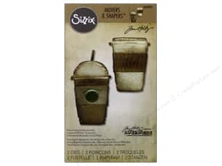 Sizzix Mover & Shapers Dies Magnetic Mini Fresh Brewed by Tim Holtz