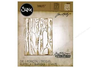 die cuts: Sizzix Thinlits Dies Birch Trees by Tim Holtz