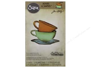 Sizzix Movers & Shapers Dies Magnetic Mini Tea Time by Tim Holtz
