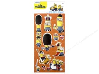 EK Universal Minions Stickers British Invasion