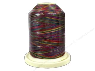Clearance: Signature 100% Cotton Thread 700 yd. #M11 Variegated Tie Dye