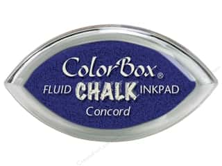 Clearance ColorBox Fluid Chalk Ink Pad Queues: ColorBox Fluid Chalk Ink Pad Cat's Eye Concord