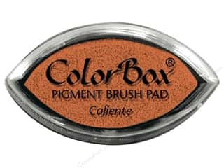 stamps: Colorbox Cat's Eye Pigment Inkpad Caliente