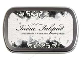 ink pad: ColorBox India Ink Pad Black