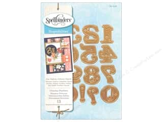 die cutting machines: Spellbinders Shapeabilities Die Victorian Numbers