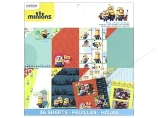 EK Success 12 x 12 in. Paper Pad Minions
