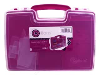 craft & hobbies: Creative Options Organizer Storage Double Sided Craft N Go Magenta
