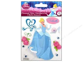 EK Disney Sticker 3D Princess Cinderella