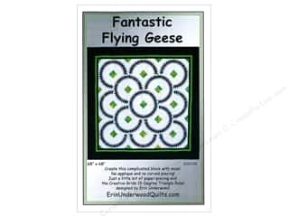 Erin Underwood Fantastic Flying Geese Pattern