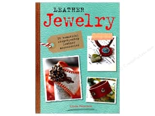 beading & jewelry making supplies: Cico Leather Jewelry Book