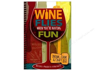 CQ Products Wine Flies When You're Having Fun Book