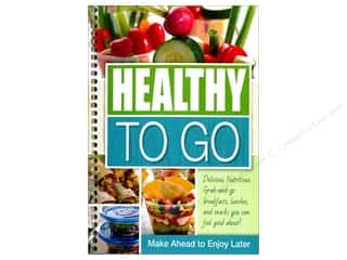 books & patterns: CQ Products Healthy to Go Book