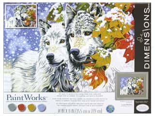 Weekly Specials Paint Brushes: Paintworks Paint By Number Kit 11 x 14 in. Early Snowfall