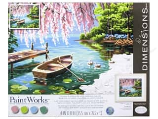 Art School & Office: Paintworks Paint By Number Kit 14 x 11 in. Willow Beauty