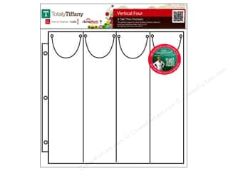 Weekly Specials Page Protectors: Totally Tiffany Organizers ScrapRack Basic Storage Pages Vertical Four 10pc