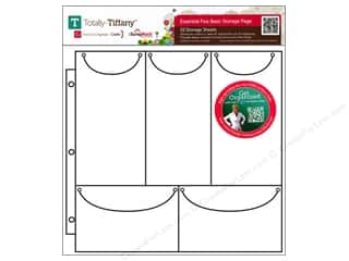 Weekly Specials Paper Accents: Totally Tiffany Organizers ScrapRack Basic Storage Pages Essential Five 10pc