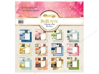 Clearance Bo Bunny Paper Collection Packs: Bo Bunny 12 x 12 in. Collection Pack Calendar Girl