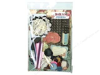Best of 2012 Bo Bunny Paper & Sticker Collection Pack: Bo Bunny Ephemera Love & Lace