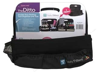 Weekly Specials Beadalon Elasticity: Totally Tiffany Organizers Ditto Desktop Black/Pink
