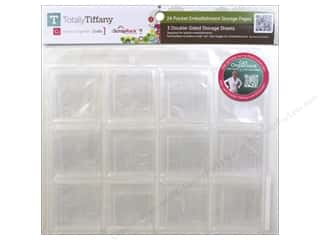 Weekly Specials Page Protectors: Totally Tiffany Organizers ScrapRack Single Page Embellishment 3pc