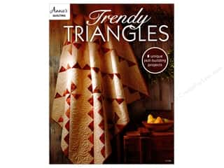 books & patterns: Trendy Triangles Book by Annie's