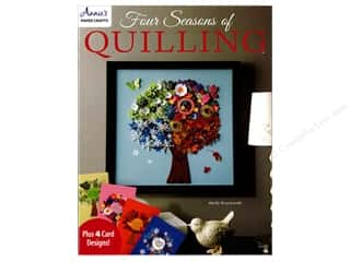 paper craft books: Annie's Four Seasons of Quilling Book