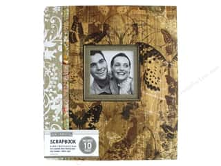 K & Company 8 1/2 x 11 in. Scrapbook Window Album Vintage Collage Floral