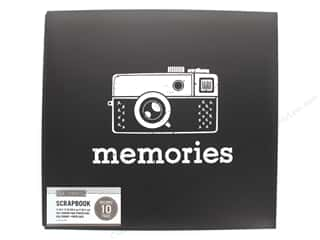 K & Company 12 x 12 in. Scrapbook Album Vintage Memories Black