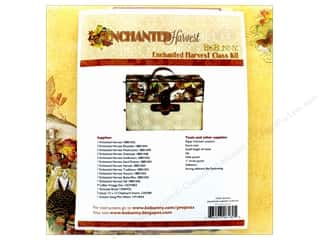 Clearance Bo Bunny Mini Albums: Bo Bunny Class Kit Enchanted Harvest