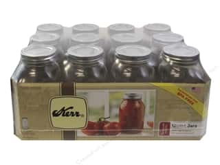 Kerr Jars Mason Regular w/Cap Quart