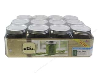 craft & hobbies: Kerr Jars Mason Wide Mouth w/Cap Pint