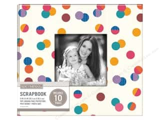 K & Company 8 x 8 in  Scrapbook Window Album Dot Multi